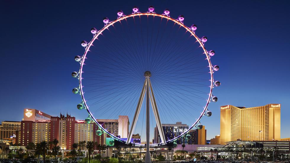 high roller observation wheel