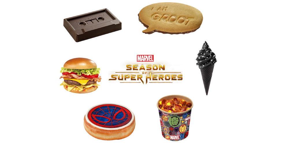 marvel season of super heroes