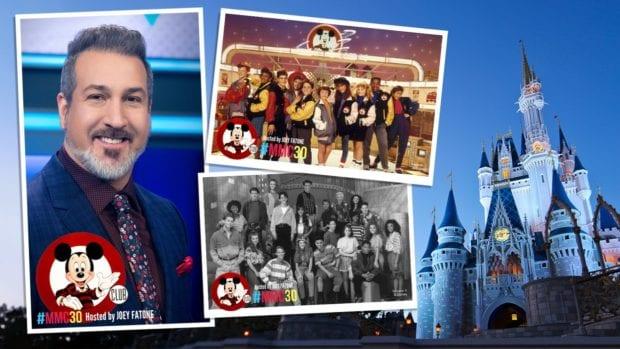 Mickey Mouse Club 30th anniversary reunion Joey Fatone.