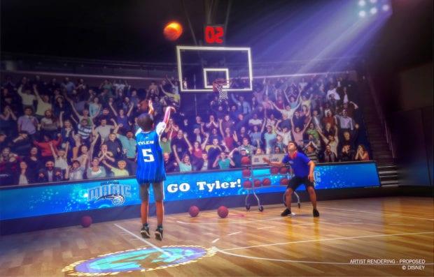 NBA experience