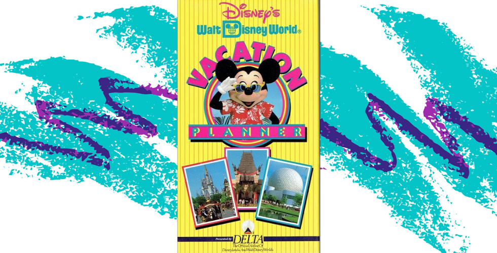 Vacation Rewind A Brief History Of Orlando Theme Park Vhs Tapes