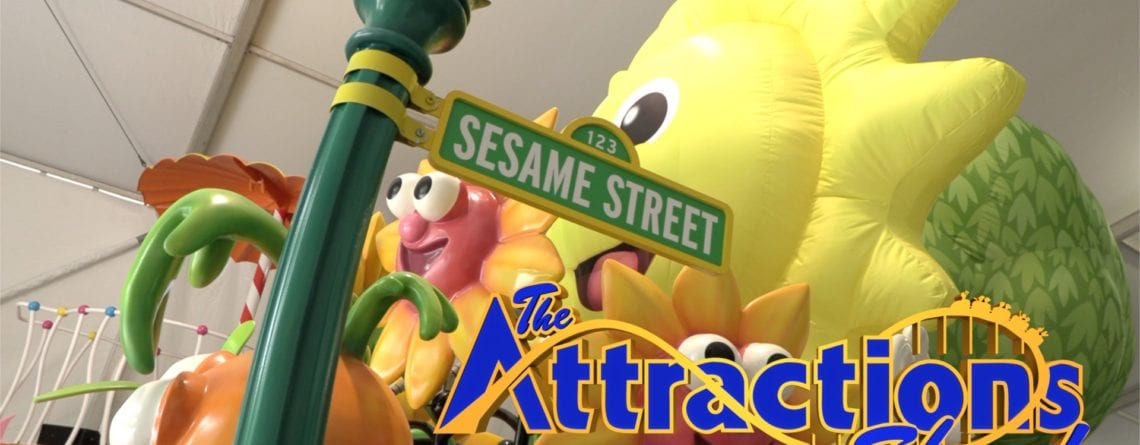 The Attractions Show – Sesame Street Parade Preview; Wonder Park Movie Premiere; latest news