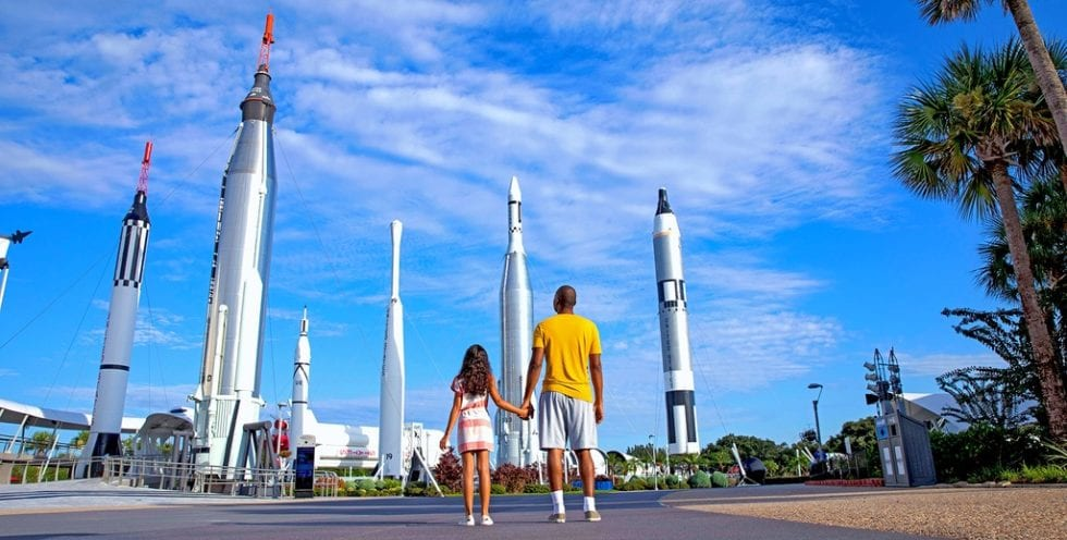 Kennedy Space Center Visitor Complex rockets