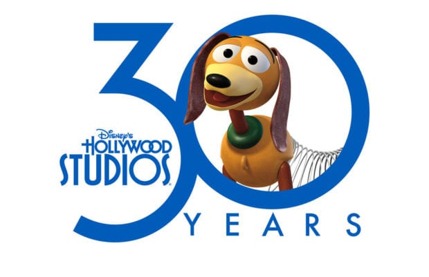 disney's hollywood studios 30 logo