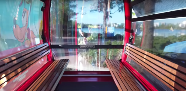 disney skyliner interior
