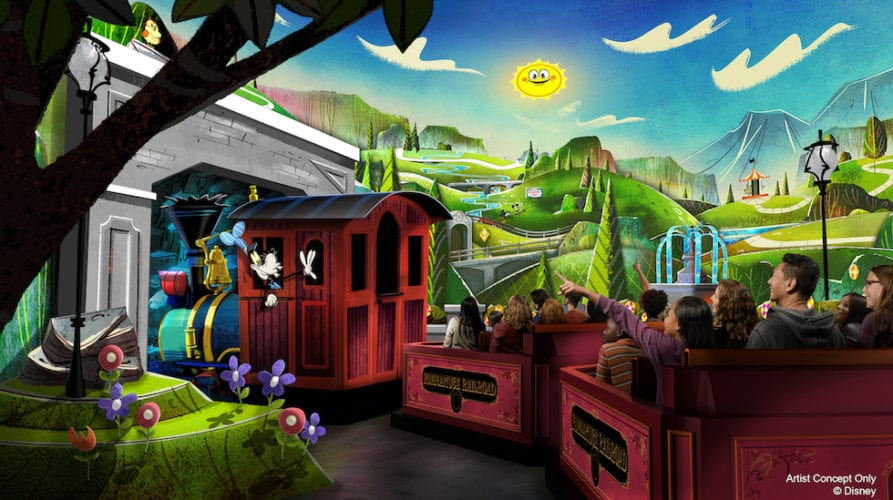 goofy runaway railway