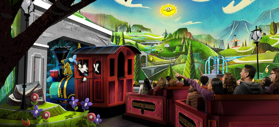 Mickey and Minnie's Runaway Railway announced for Disneyland park