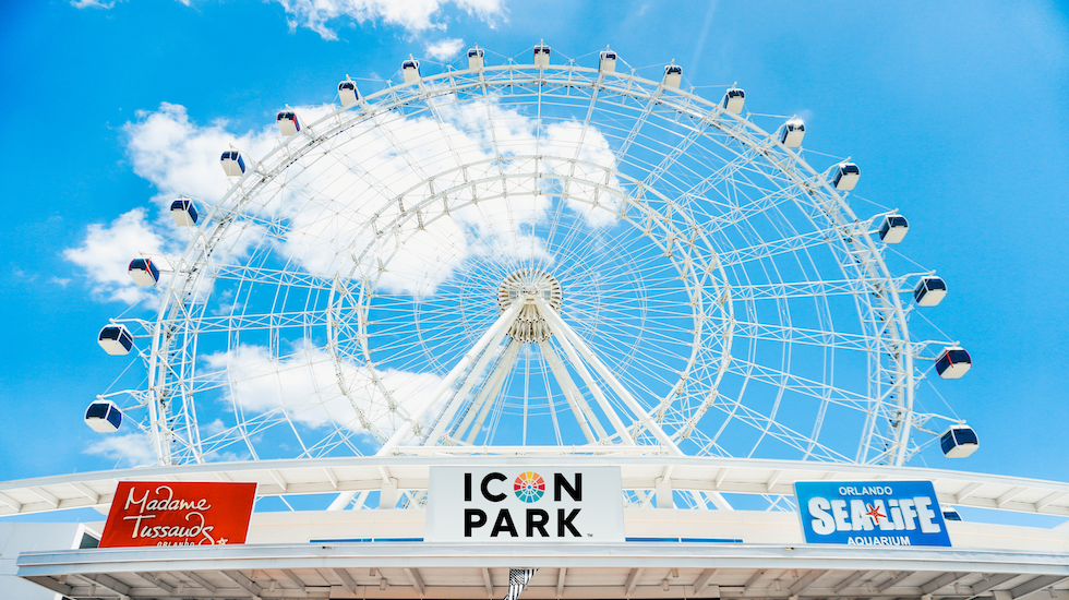 the wheel at icon park