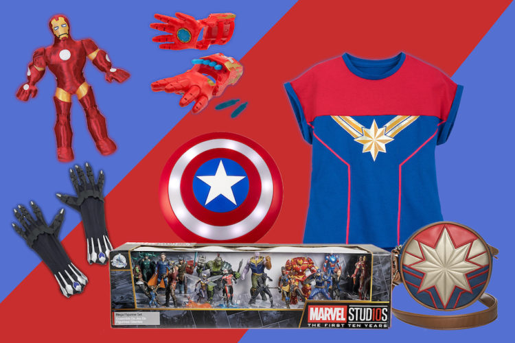 shanghai disney marvel merch