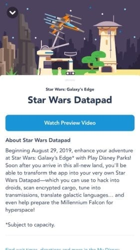 star wars datapad
