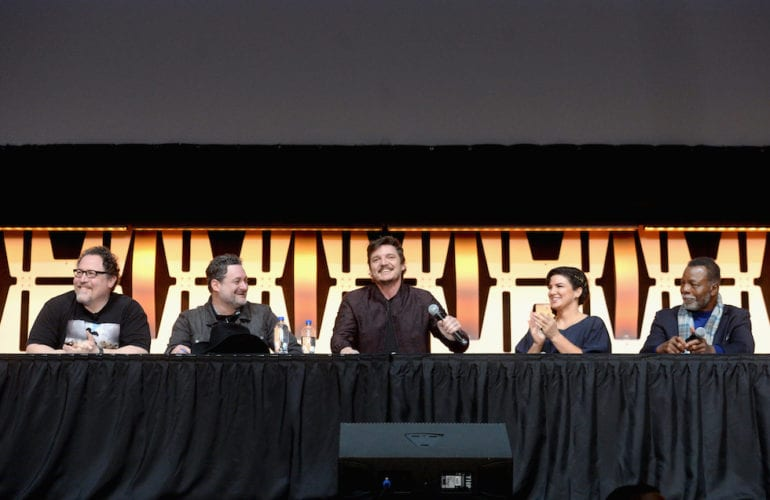 the mandalorian panel