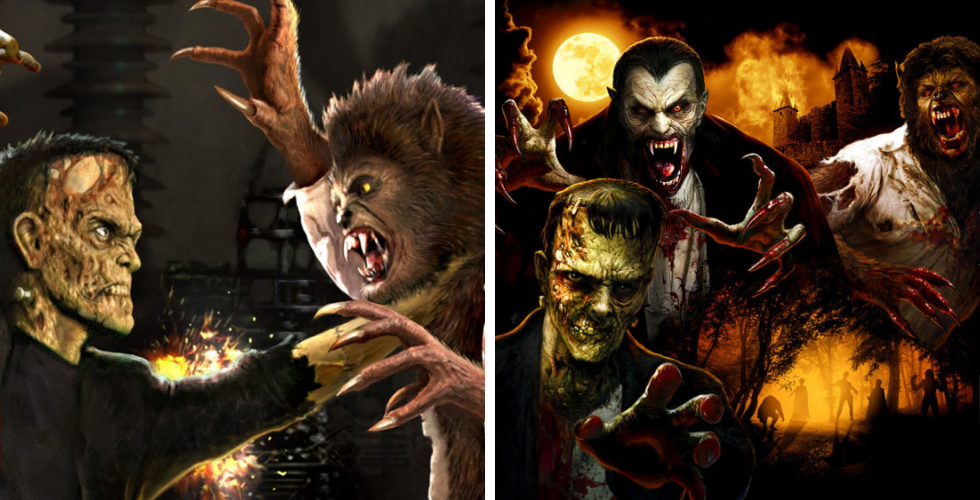 Universal Monsters Houses Announced For Universal Studios Halloween Horror Nights