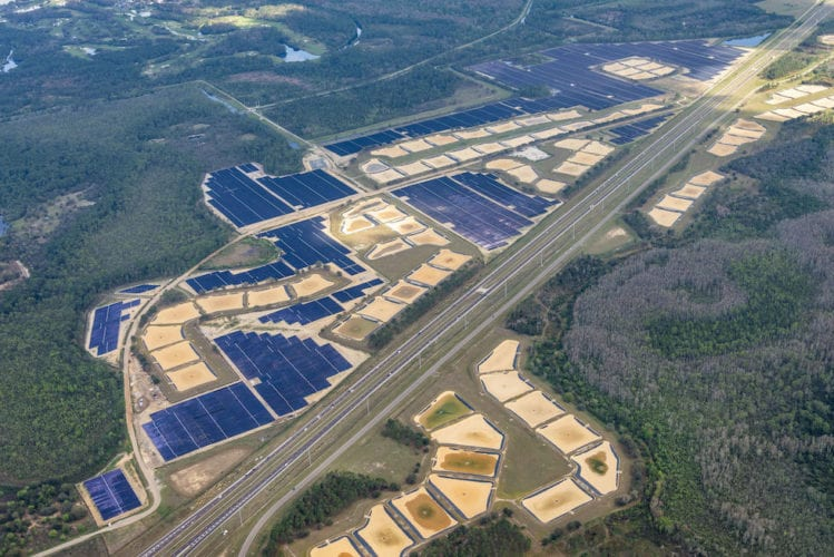 walt disney world solar facility