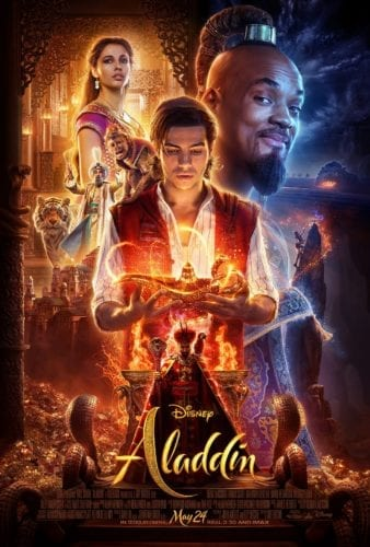 Aladdin live-action poster