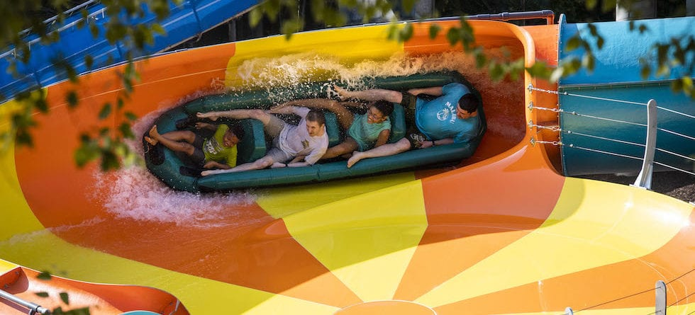 Cutback Water Coaster now open at Water Country USA