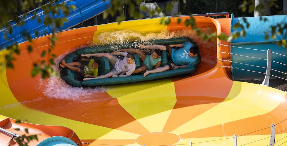 cutback water coaster