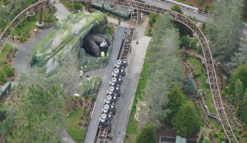 Photo Update Hagrid S Motorbike Roller Coaster Opens In One Month