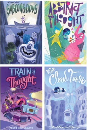 inside out attraction posters