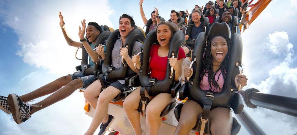Firebird floorless coaster debuts at Six Flags America