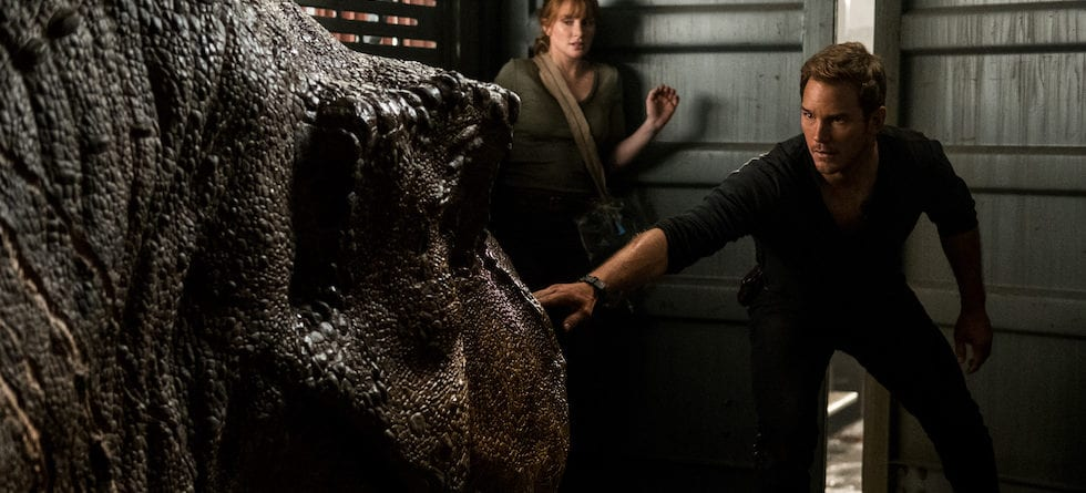 Chris Pratt, Bryce Dallas Howard, BD Wong to reprise roles for 'Jurassic World – The Ride'