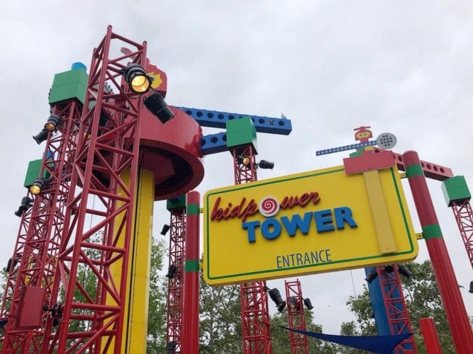 power tower for kids