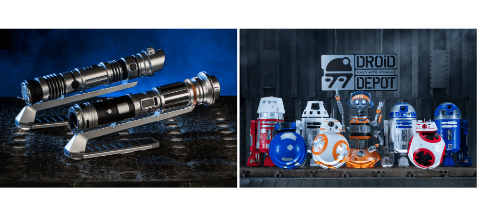 Details, prices revealed for custom lightsabers, droids for sale in Star Wars: Galaxy's Edge