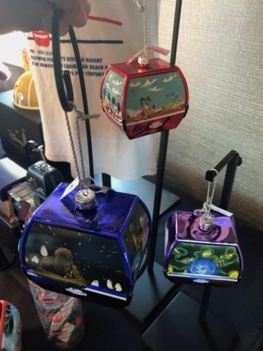 skyliner ornaments