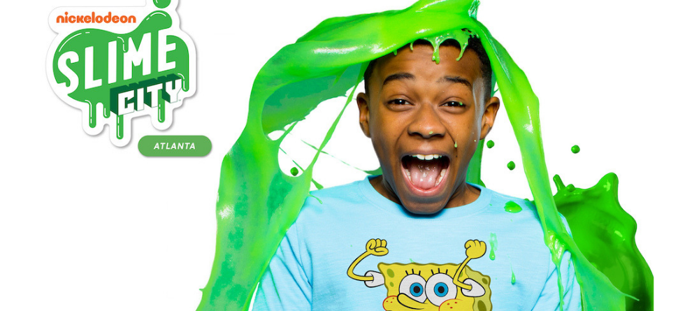 Nickelodeon heads to Atlanta for Slime City, first-ever immersive slime experience
