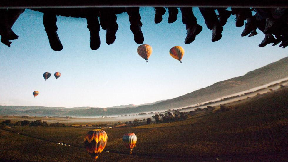 soarin' over california