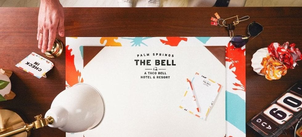 Taco Bell Hotel launching August 2019 in Palm Springs