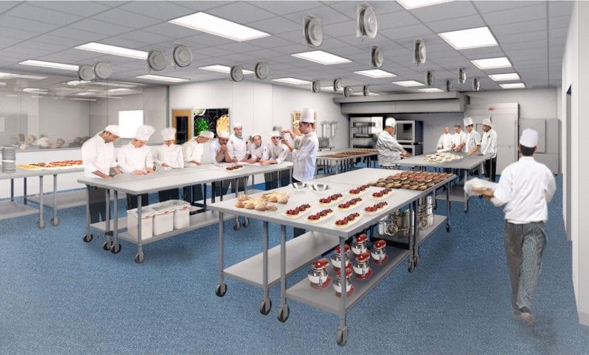 pastry kitchen rendering
