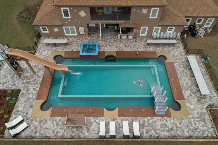 Great Escape Parkside billiard table pool mansion board games