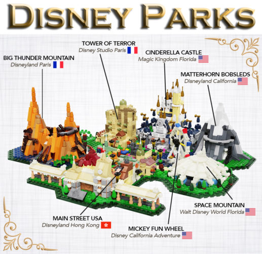 Disney Parks Lego Ideas
