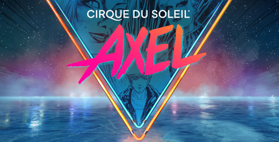 Cirque du Soleil Axel ice skating tour logo