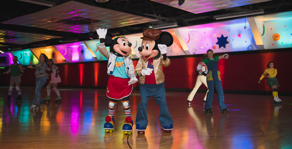 mickey mouse's roller disco