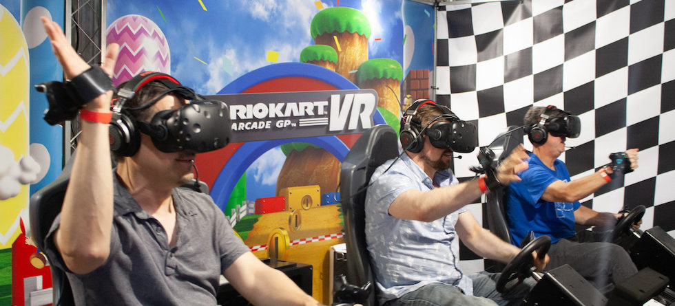 Mario Kart VR multiplayer game launches at K1 Speed Irvine