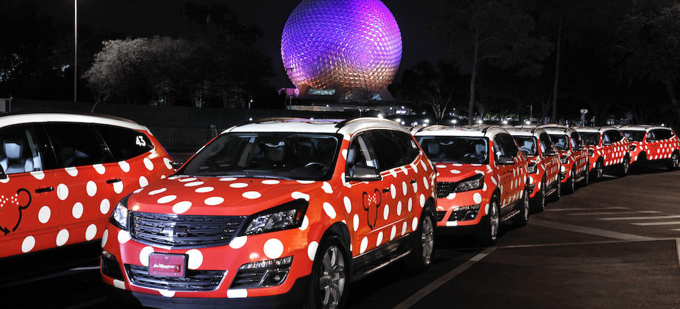 Lyft now official rideshare service at Disney Parks, connected with Minnie Vans