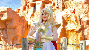 She-Ra from Netflix's 'She-Ra and the Princesses of Power' now meeting at Islands of Adventure