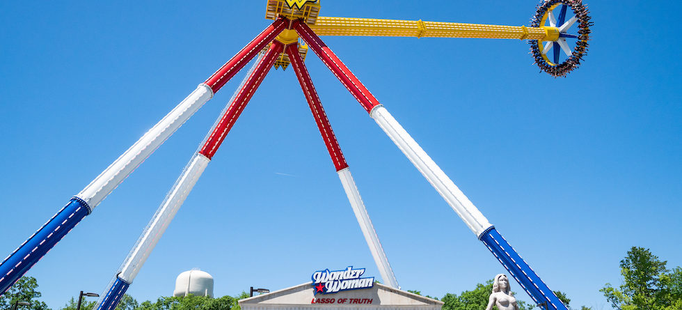 Wonder Woman Lasso of Truth opens at Six Flags Great Adventure