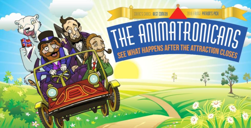 The Animatronicans Orlando fringe double feature fundraiser