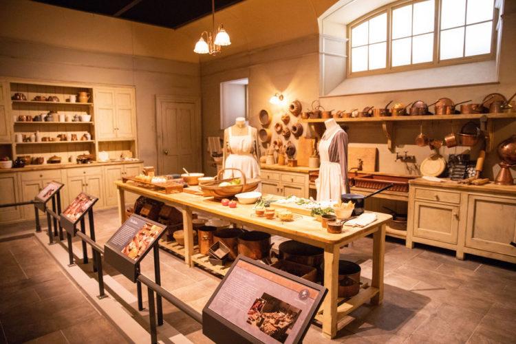 Downton Abbey The Exhibition kitchen Biltmore