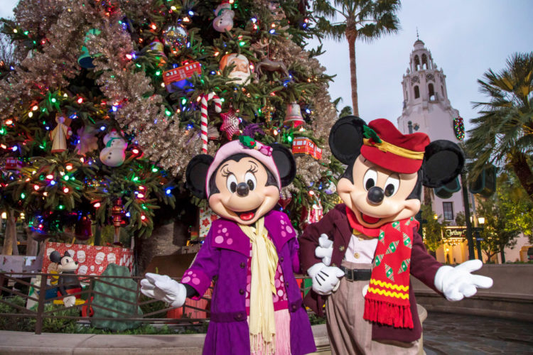 Disneyland Resort 2019 Holiday season