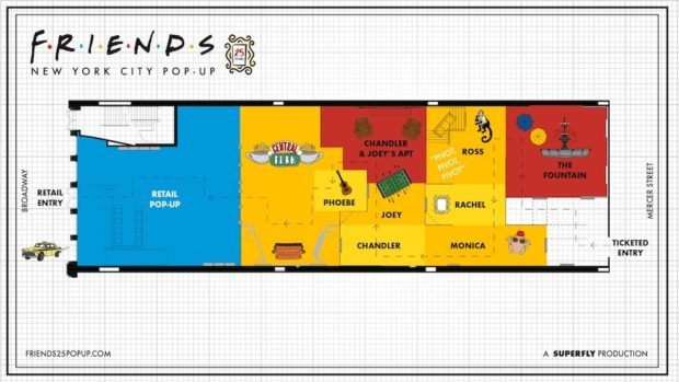 Friends Pop Up Experience Coming To New York City