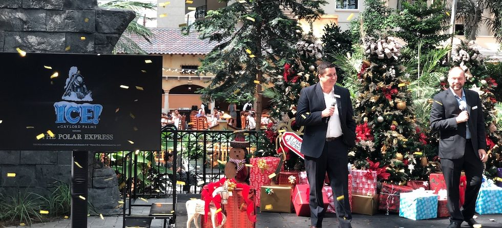 Gaylord Palms announces 'The Polar Express' as Ice! theme for 2019