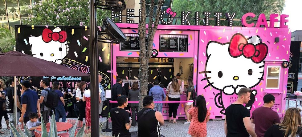 New Hello Kitty Cafe pop-up now open in Las Vegas