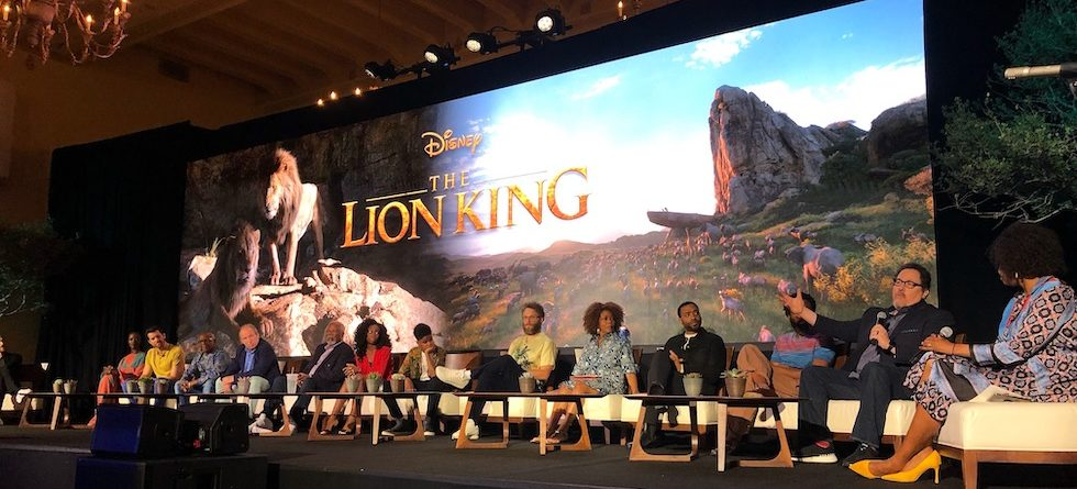 'The Lion King' cast, crew reveal technology, inspirations behind new film