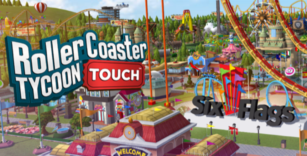 Six Flags teams up with Atari for RollerCoaster Tycoon Touch