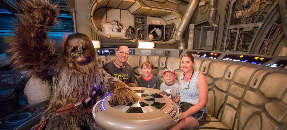 Millennium Falcon: Smuggler's Run welcomes 1 millionth rider at Disneyland