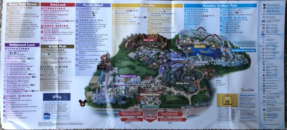 New Walt Disney World park maps turn Hollywood Studios ...