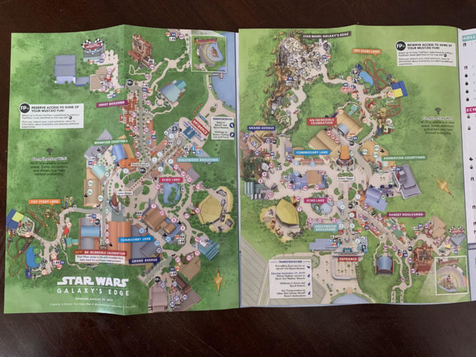 New Walt Disney World park maps turn Hollywood Studios ... Disney Worldmap on